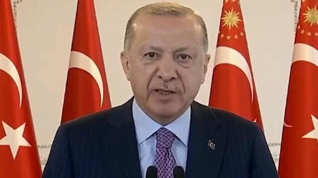 Cumhurbaşkanı Erdoğan: Sadece medyayla çetelerle değil, 'takoz muhalefet' ile de mücadele ettik