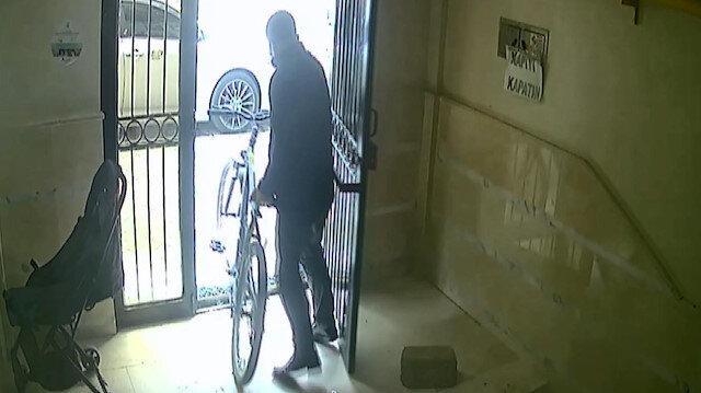 Değeri bin 500 lira ile 7 bin lira arasında değişen 11 bisikleti bir ayda çaldı