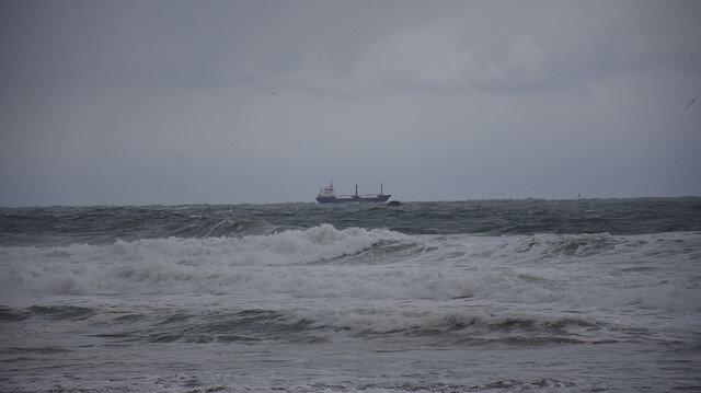 Bartın'da batan gemi için Deniz Kuvvetleri fırkateyn görevlendirdi