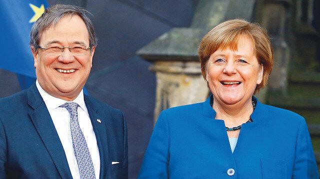Merkel'in halefi Armin Laschet