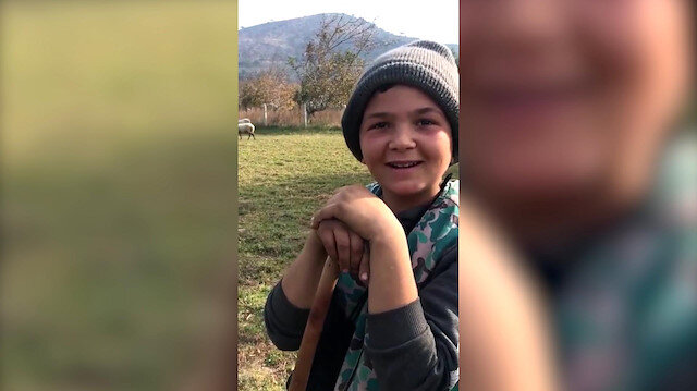 12 yaşında 90 koyuna çobanlık yapan Şevki sosyal medyayı salladı: İstanbullular kaçın bu yana