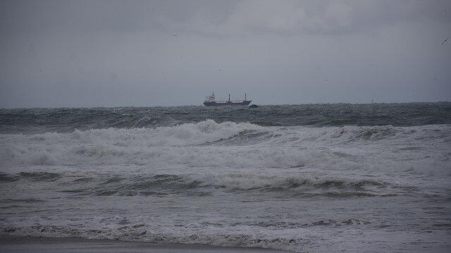 Bartın açıklarında Rus bandıralı bir kuru yük gemisi battı