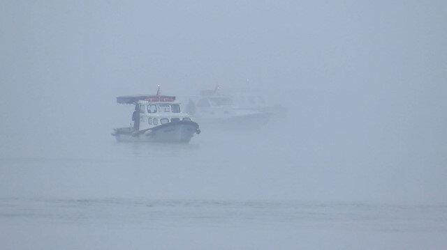 İstanbul Boğazı'nda gemi geçişleri çift yönlü askıya alındı