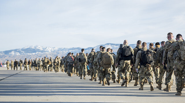 Savaşa hazırlanır gibi: Yemin töreni öncesi Washington'a asker yığıldı