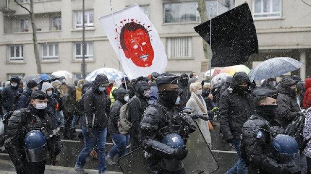 Fransa'da yasa karşıtı protestolar devam ediyor