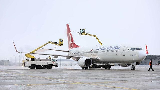 İstanbul Havalimanı'ndaki uçuşlar kesintisiz devam ediyor