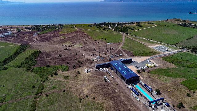 TOGG'un Gemlik tesisinin inşaatı için 1500 kişi istihdam edilecek