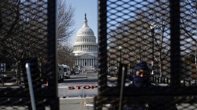 ABD Kongre binasında verilen alarm kaldırıldı: Yemin töreni yarım kaldı