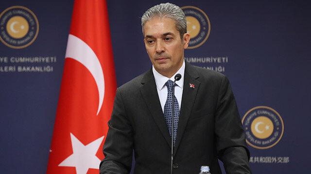 Türkiye'den Yunan Dışişleri Bakanı Dendias'ın ifadelerine tepki: Türkiye'yi eleştirmesi trajikomik