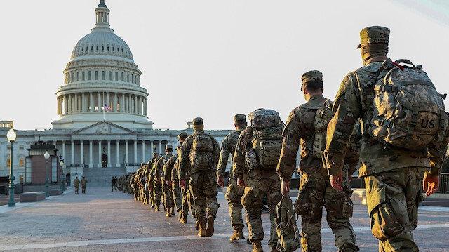 Biden'ın yemin töreninde bulunacak 25 bin asker güvenlik taramasından geçiriliyor