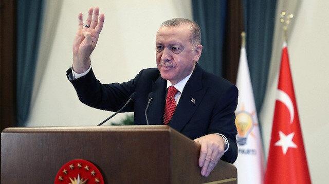 Cumhurbaşkanı Erdoğan: 2023 seçimlerinde milletimizin karşısına çok daha büyük bir vizyonla heyecanla çıkacağız