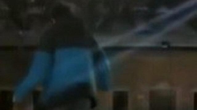 Bursa'da donmuş süs havuzu üzerinde 'yürürüm' iddiası hüsranla bitti