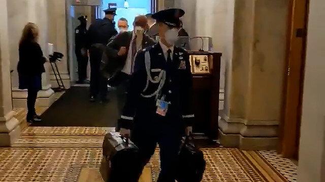 Nükleer kodların yer aldığı çanta Kongre binasına getirildi