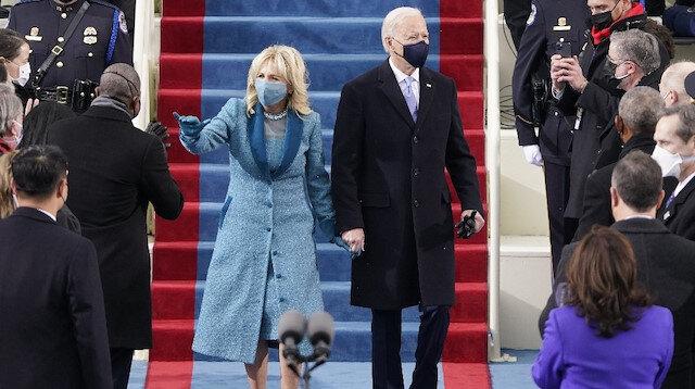ABD'nin 46. Başkanı Biden yemin ederek görevine başladı