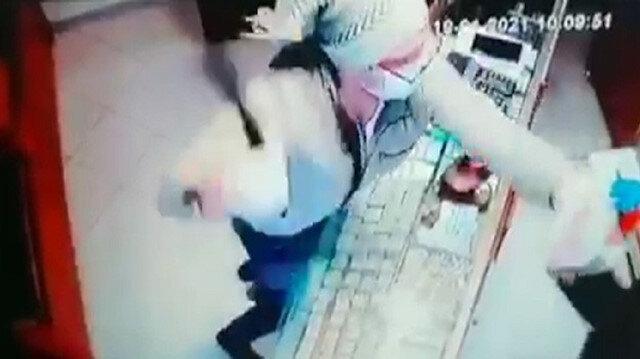 Kuyumcuda coplu saldırı anı kamerada