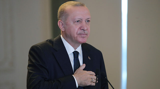 Cumhurbaşkanı Erdoğan: AK Parti milletimiz tarafından kurulan sahibi de milletimizin bizatihi kendisi olan bir partidir