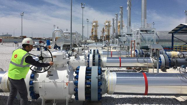 Bakan Dönmez duyurdu: TANAP'tan 9,1 milyar metreküp gaz akışı gerçekleşti