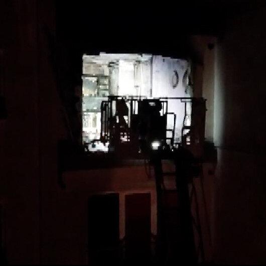 Esenyurtta 30 katlı binanın 9. katında patlama