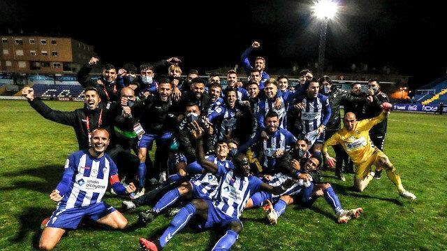Dünya devi 3. lig takımına elendi