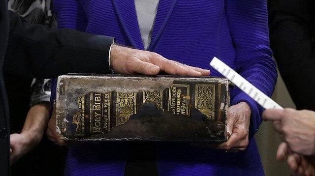 Biden'ın yemin töreninde kullandığı 100 yıllık İncil'e dair detaylar ortaya çıktı