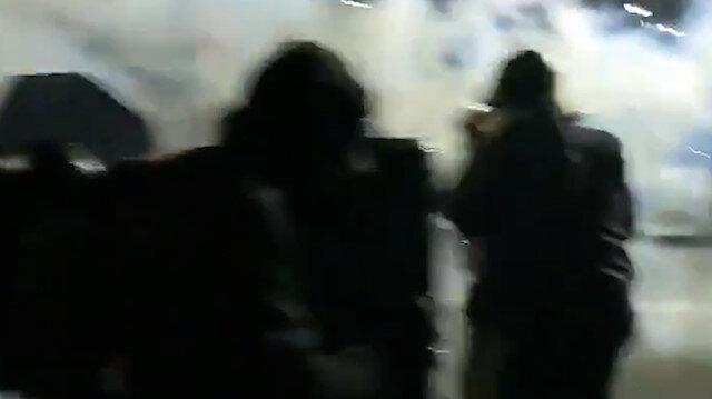 Biden'ın yemin töreni sonrası ABD sokakları karıştı