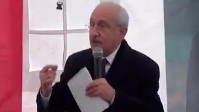 Kılıçdaroğlu yine büyük bir gaf yaptı: Namussuz siyasete evet diyeceksiniz