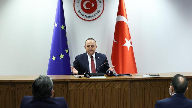 Bakan Çavuşoğlu: AB ile diyaloğu devam ettirmek konusunda hemfikiriz