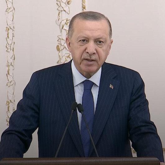 Cumhurbaşkanı Erdoğan: Bu zorlu günlerde ülkemizi diğerlerinden ayrıştırmayı başardık.