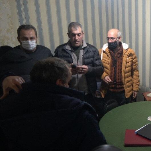 20 metrekarelik konteynerde kumar oynadılar: 14 kişiye 88 bin 200 lira ceza kesildi