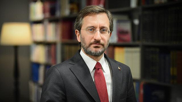 """Cumhurbaşkanlığı İletişim Başkanı Fahrettin Altun'dan """"militan"""" ifadesine tepki"""