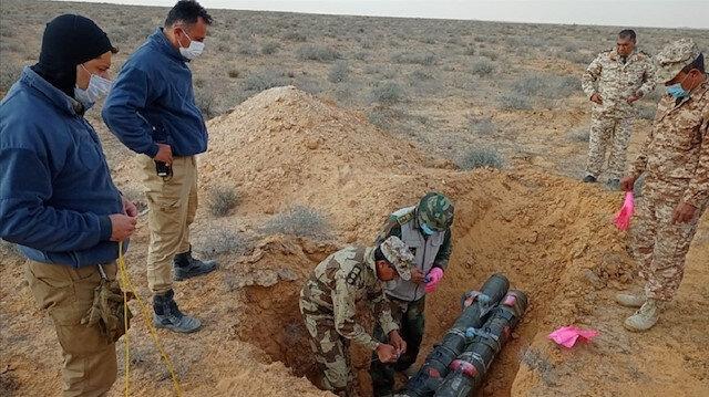 Libya'da mühimmat mayın ve el yapımı patlayıcıların imhasına devam ediliyor