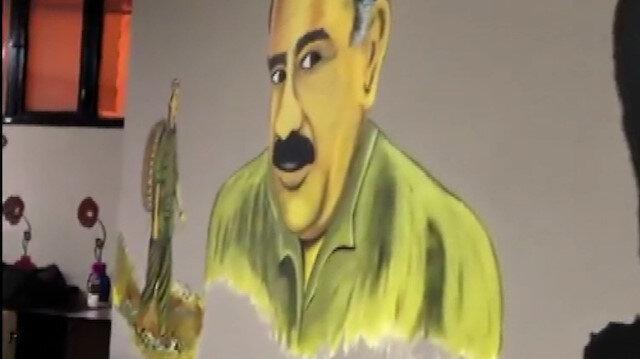 Esenyurt HDP ilçe binasına operasyon: Teröristbaşı Öcalan'ın ve birçok örgütsel dökümanın görüntülendiği binaya şafak baskını