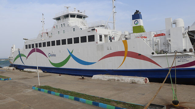 Gökçeada ve Bozcaada'ya yarınki bazı feribot seferleri iptal edildi