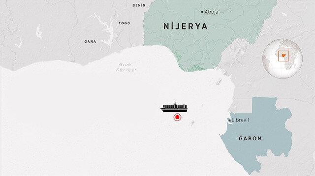 Nijerya'da saldırıya uğrayan gemi limana demirlendi