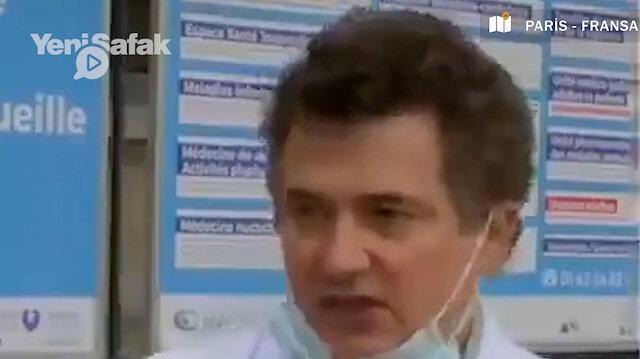 Fransa Acil Servis Doktorları Başkanı: Yeterli aşımız yok randevu veremiyoruz isyan kapıda