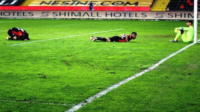 Gaziantep FK uzatmalarda yıkıldı: 4 maçta 8 puan bıraktı