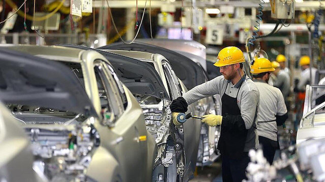 Üretilen her 100 araçtan 76'sı ihraç edildi