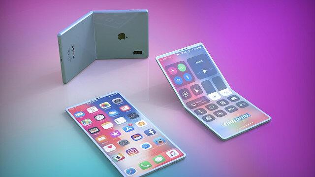 Katlanabilir iPhone ile ilgili yeni bir patent daha ortaya çıktı