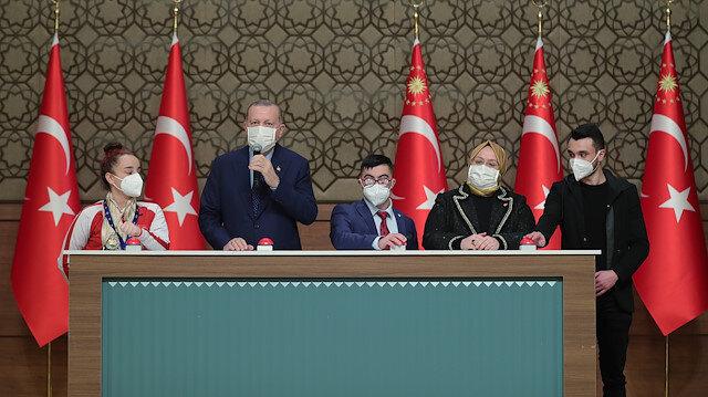 Cumhurbaşkanı Erdoğan: En yakın zamanda 50 milyon doz aşı ülkemize gelecek