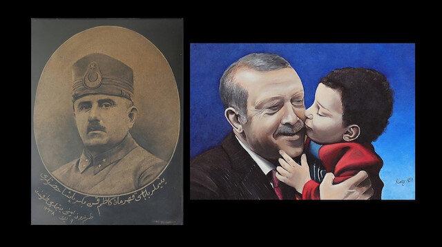 Cumhurbaşkanı Erdoğan paylaştı: Kazım Karabekir Paşa'nın portresinin hikayesi