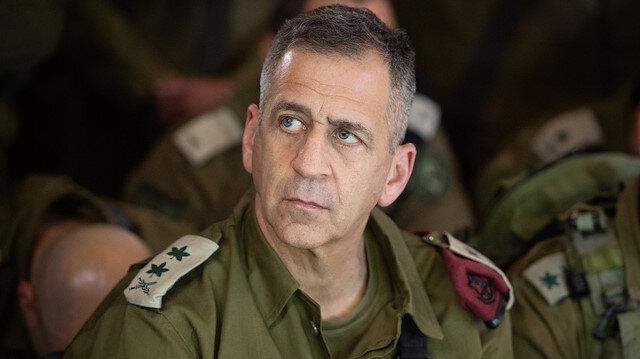 İsrail Genelkurmay Başkanı Aviv Gazze'de sivil hedefleri vurmakla tehdit etti