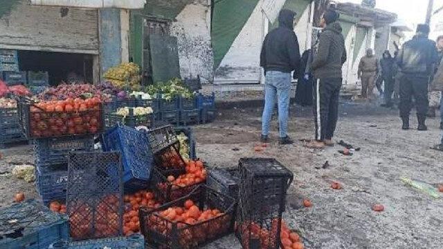 MSB: Terör örgütü PKK/YPG Tel Abyad'da patlattıkları bomba ile 3 masum sivili katlederken 2 sivili de yaraladı