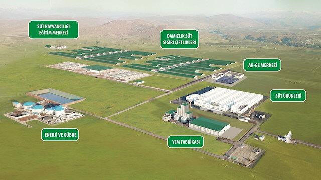 Sütün bereketi Bingöl'de hayat veriyor: 1 milyar 115 milyon TL'lik Sütaş yatırımı kentin kaderini değiştiriyor