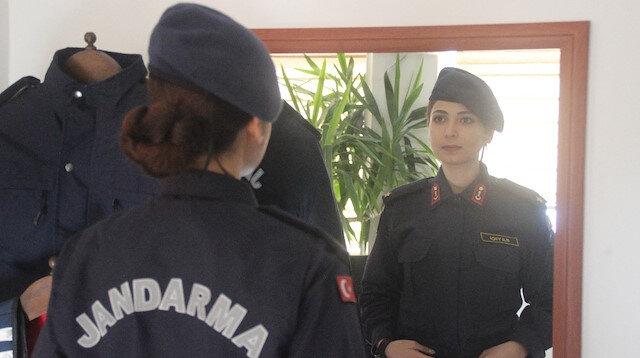 Kayserinin ilk kadın ilçe jandarma komutanı Teğmen Sayıcı: Vatandaşla sağlam bir köprü kurulmalı