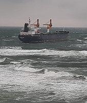 Kargo gemisinden yardım çağrısı