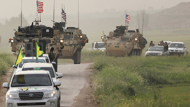 ABD Merkez Komutanlığı'ndan terör örgütü PKK'ya Ayn el Arab kutlaması