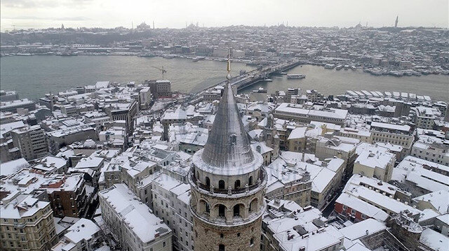 Meteoroloji saat verdi: Kar İstanbul'a yeniden geliyor