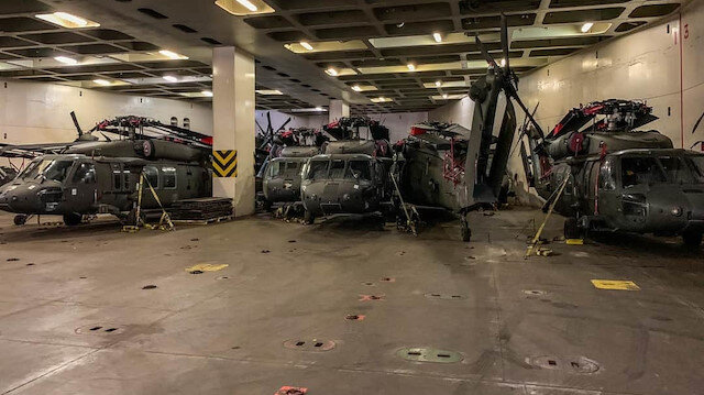 ABD'nin yeni merkez üssü: Dedeağaç Dimokritos Havalimanı'na 30 saldırı helikopteri gönderildi