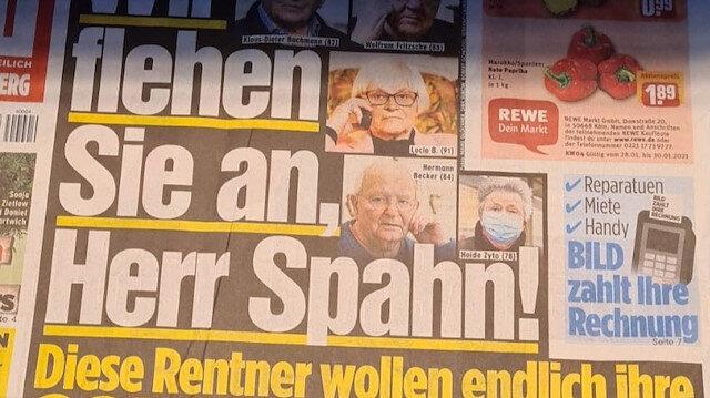 """Almanya'da korona krizi: Yaşlılar sağlık bakanına """"Yalvarıyoruz aşılarımızı vurun"""" diyerek seslendiler"""