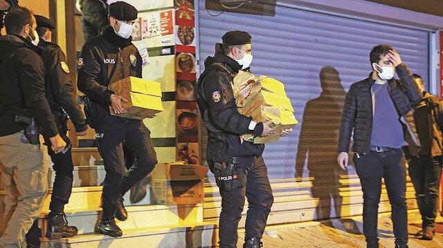 HDP'de 100 binfotoğraflık terör arşivi çıktı